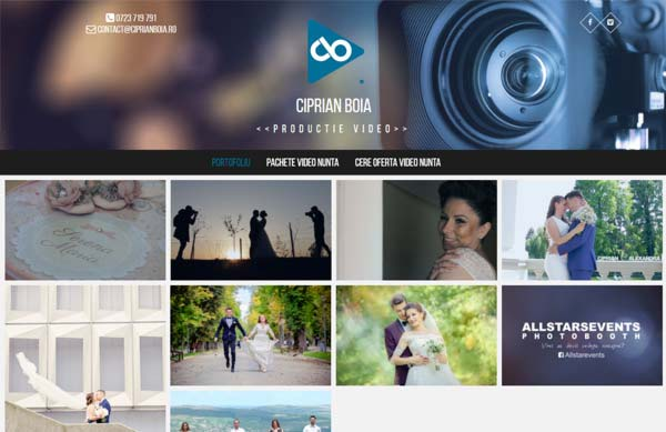 productie video cluj web design